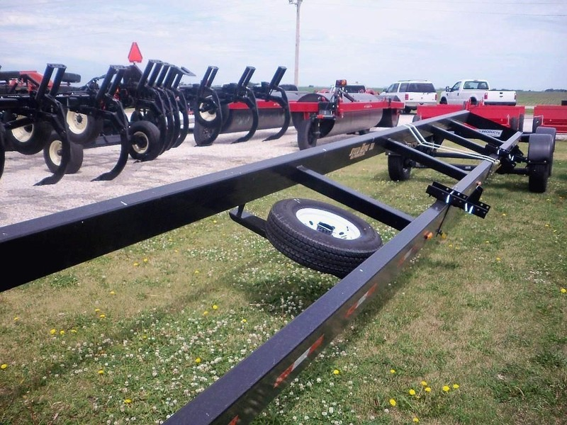 2019 MD Products 38 Header Trailer
