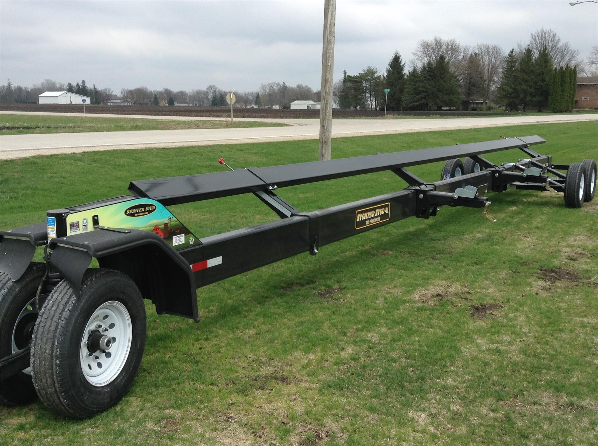 2019 MD Products 41 Header Trailer