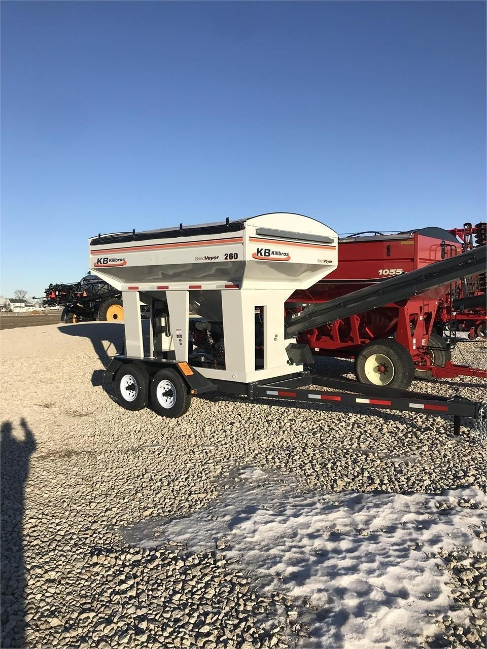 2019 Killbros Seedveyor 260 Seed Tender