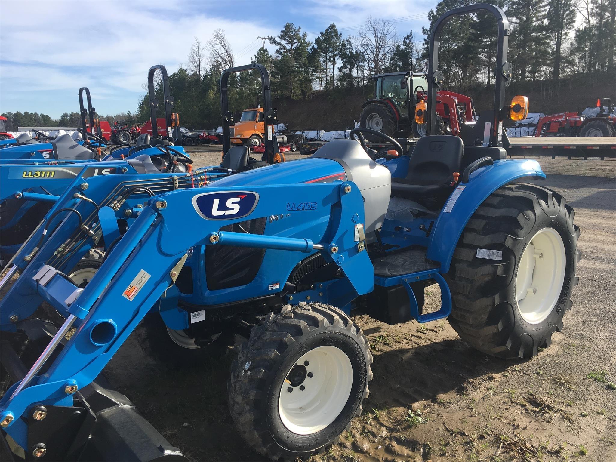 2021 LS MT345 Tractor