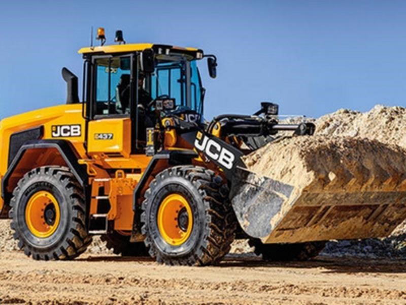 2019 JCB 437HT Wheel Loader