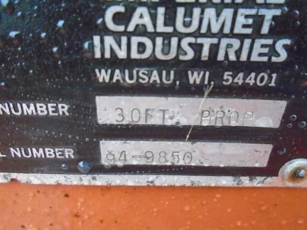 1994 Calumet 38 Manure Pump
