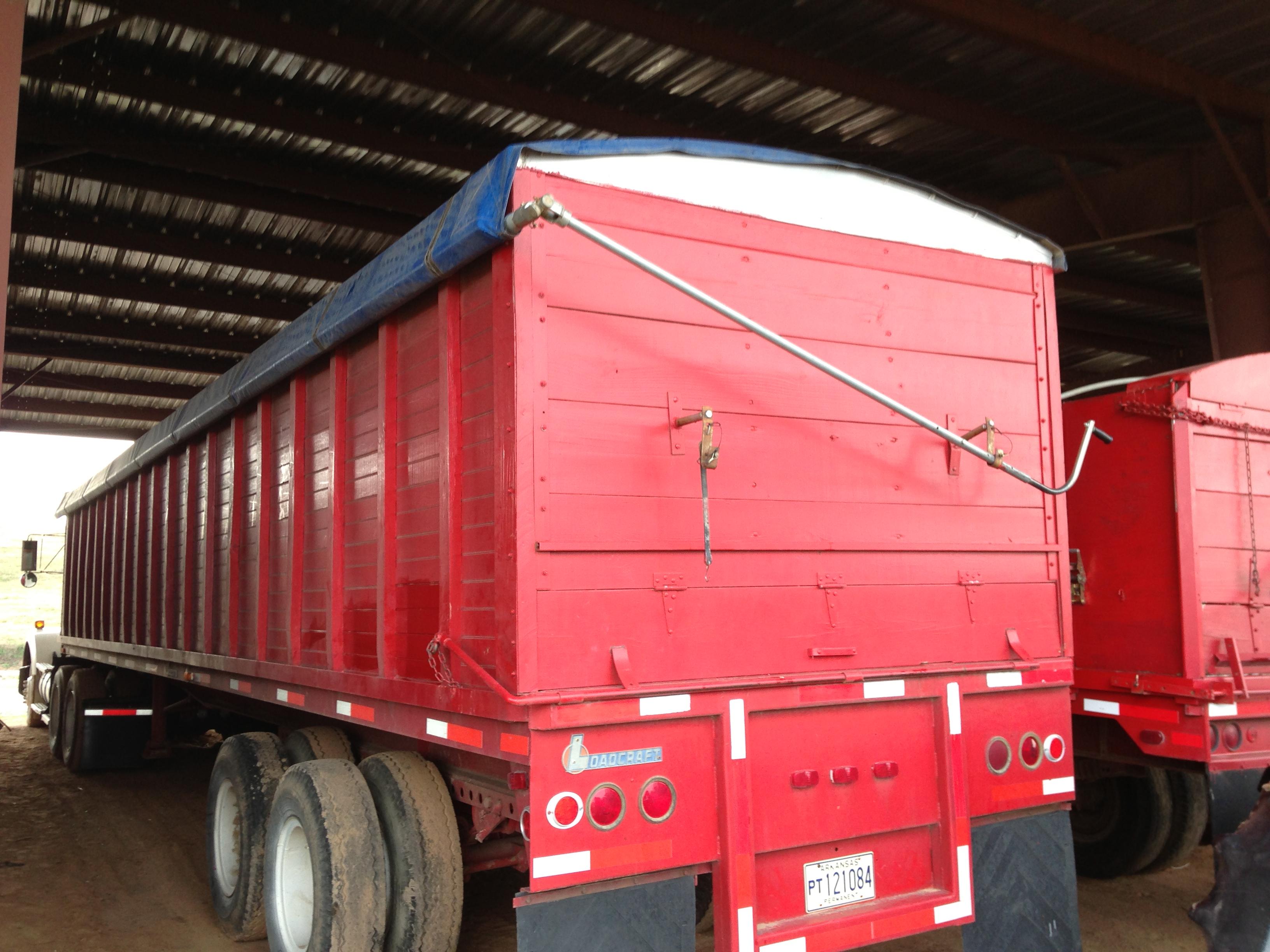 Bush Hog 40' Loadcraft Grain Trailer