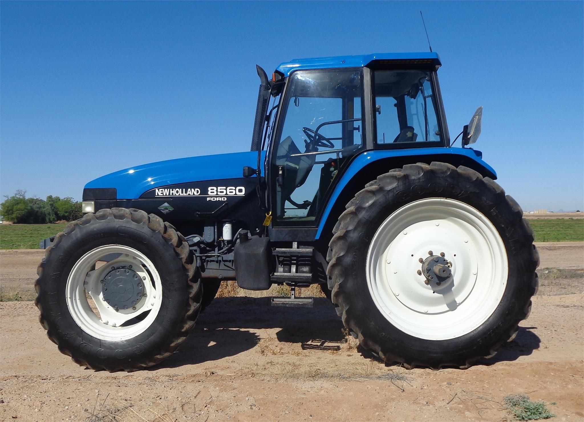 Ford New Holland >> 1996 Ford New Holland 8560 Tractor