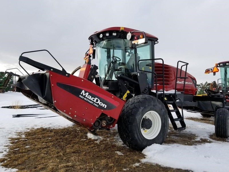 Used MacDon Self-Propelled Windrowers and Swathers for Sale