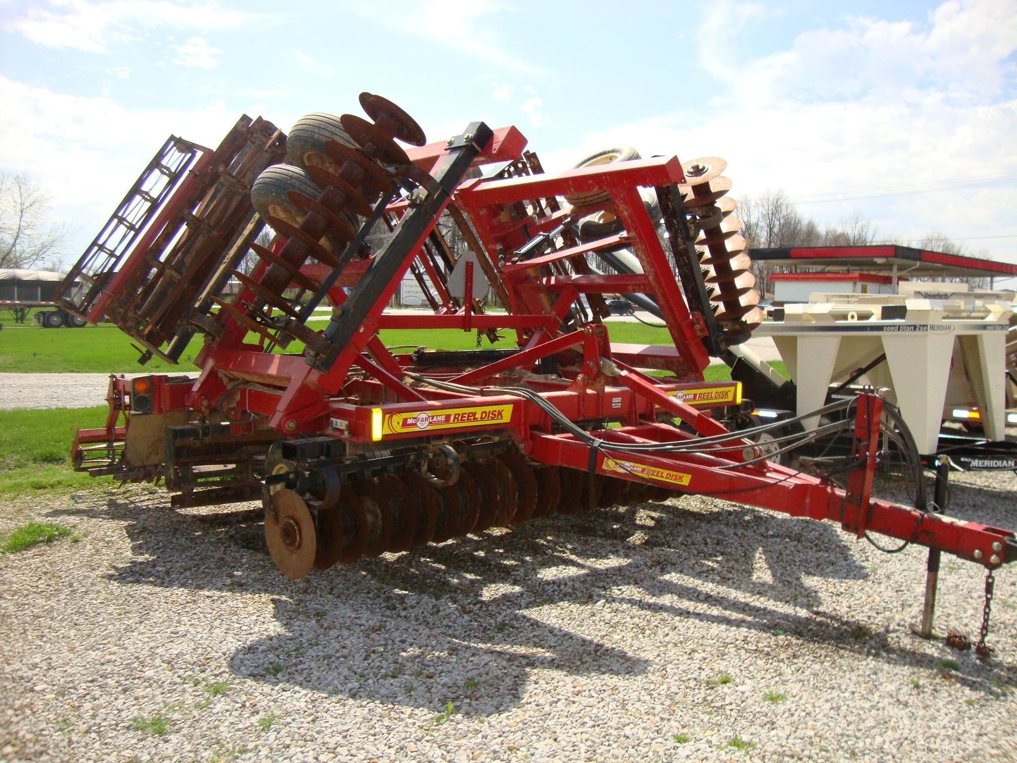 McFarlane RD4025 Vertical Tillage