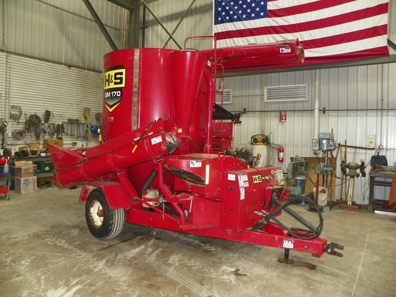 2012 H & S GM170 Grinders and Mixer