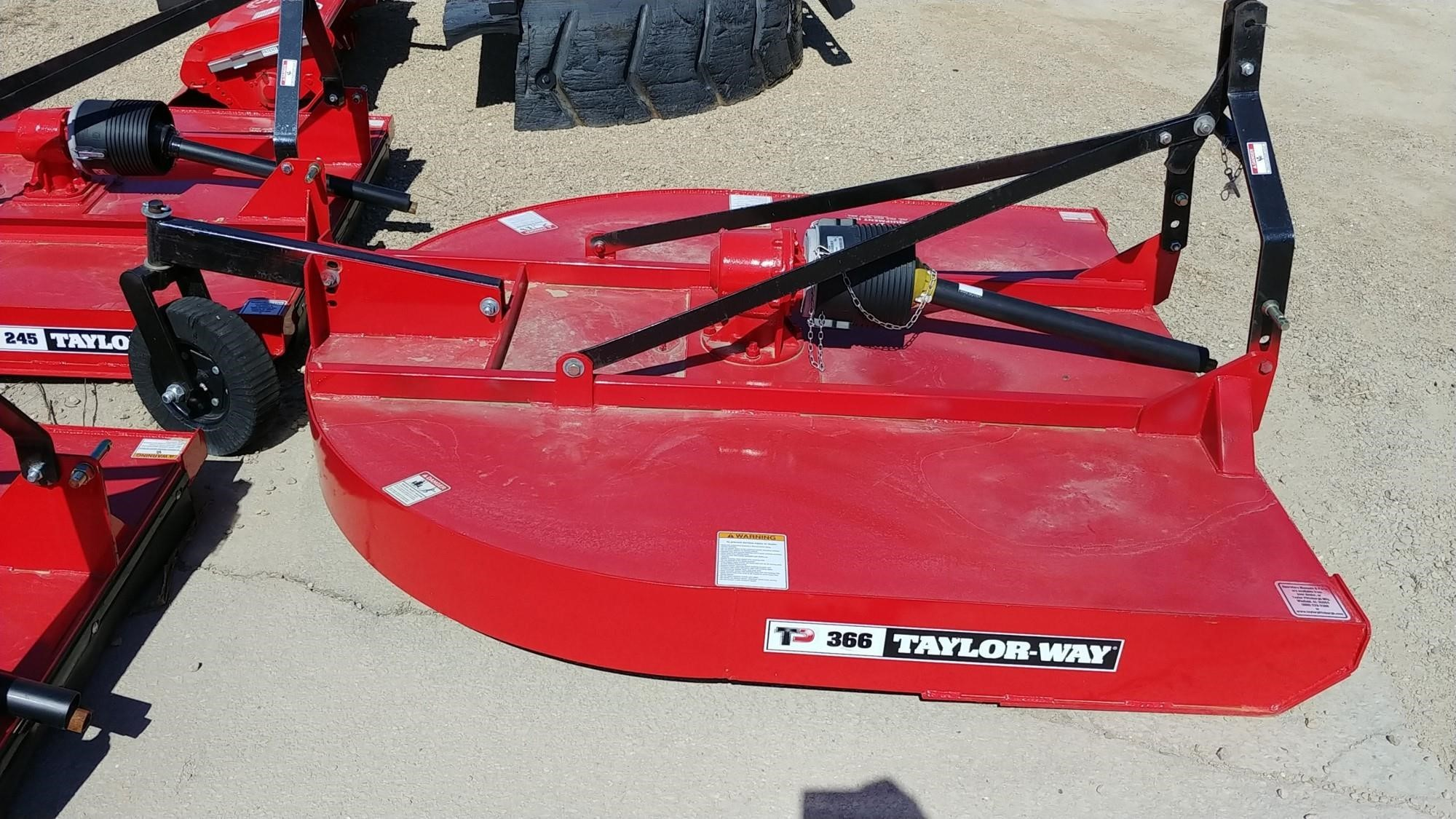 2017 Taylor Way 366 Rotary Cutter