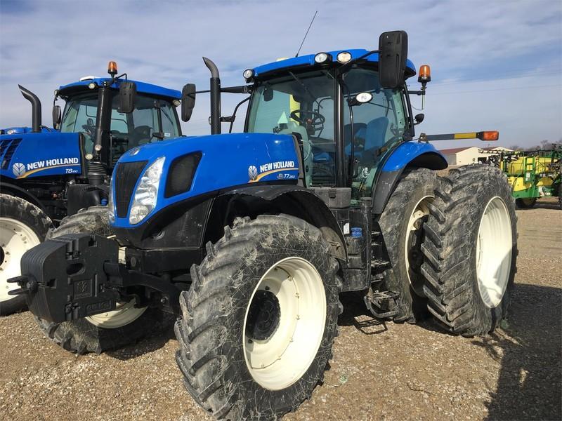 2014 New Holland T7.260 SIDEWINDER II Tractor