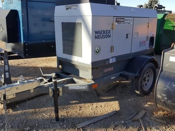 Used Wacker Neuson Generators for Sale | Machinery Pete