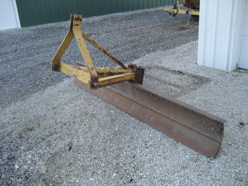 Custom Made 8' Loader and Skid Steer Attachment