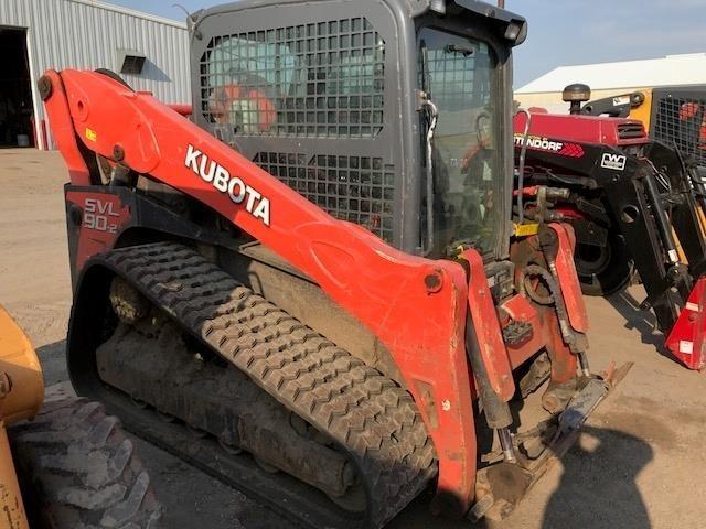 2013 Kubota SVL90-2 Skid Steer