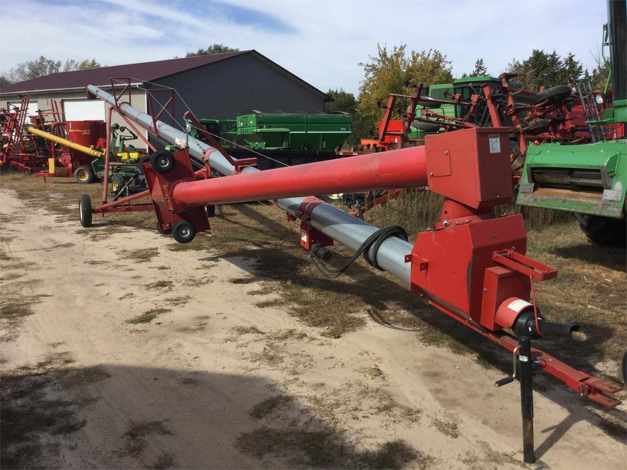 2009 Peck 10x66 Augers and Conveyor