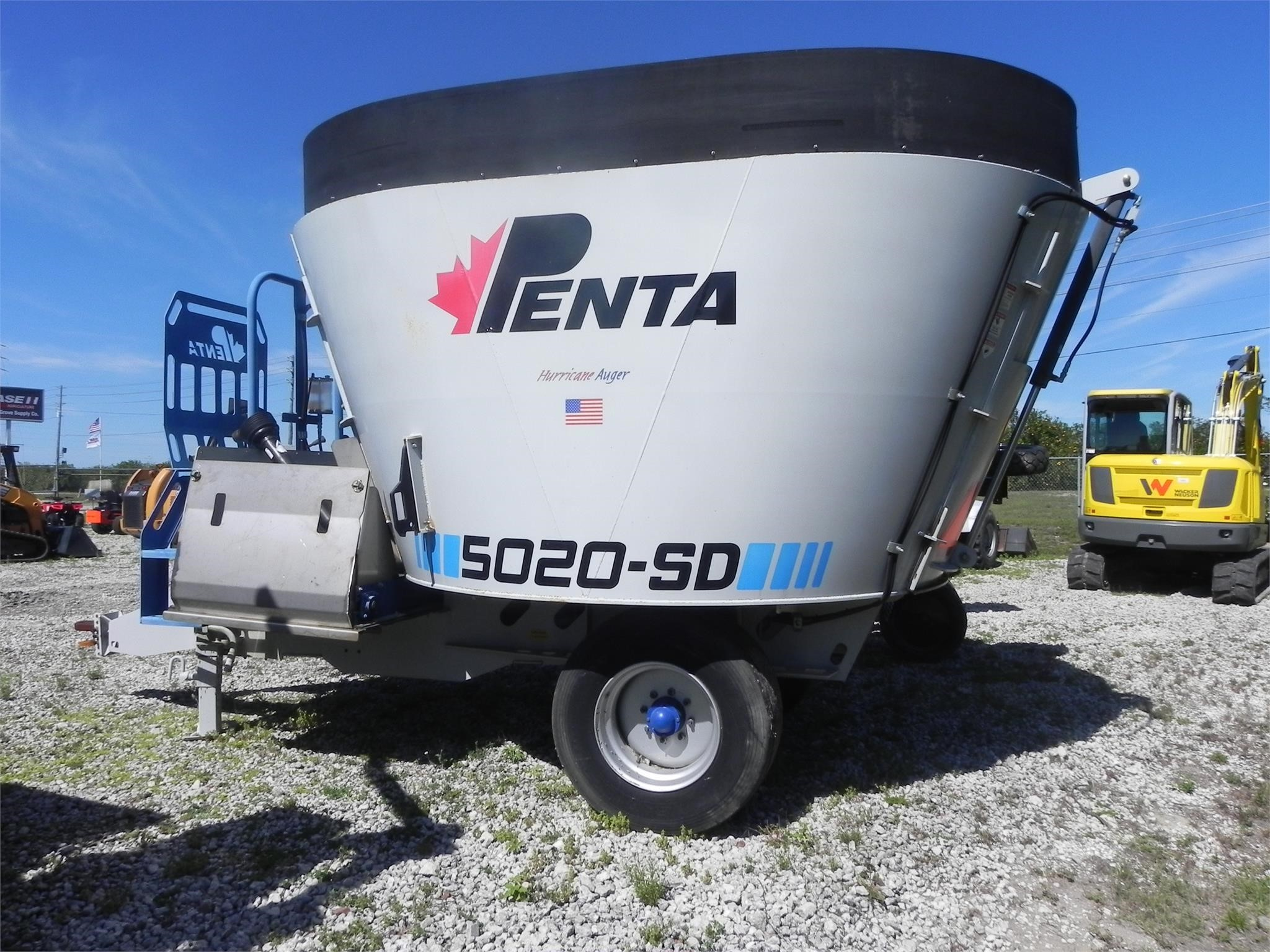 2014 Penta 5020SD Grinders and Mixer