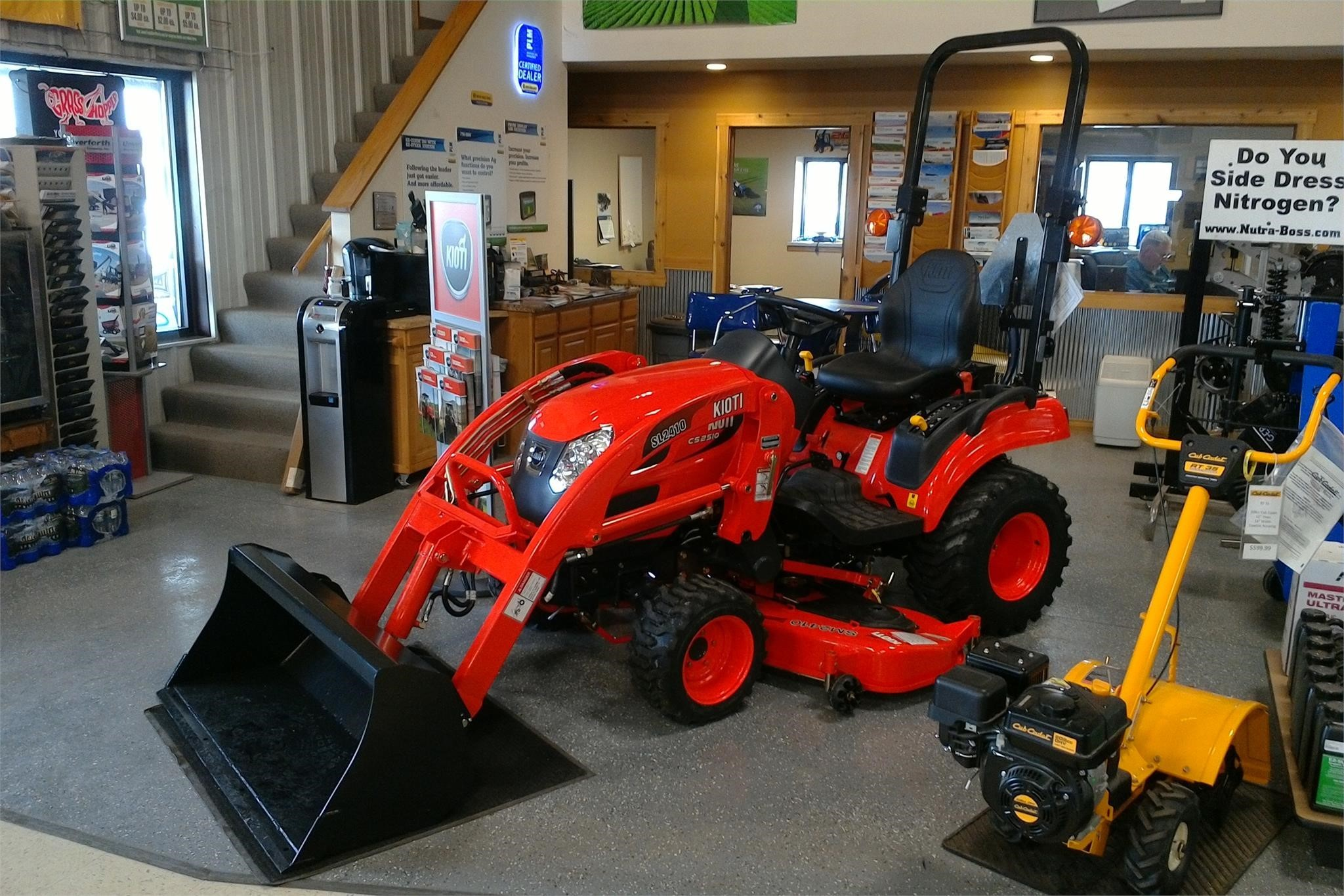2019 Kioti CS2510 Tractor