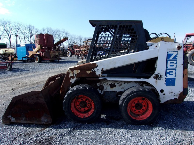 Used Bobcat 763 Skid Steers For Sale Machinery Pete