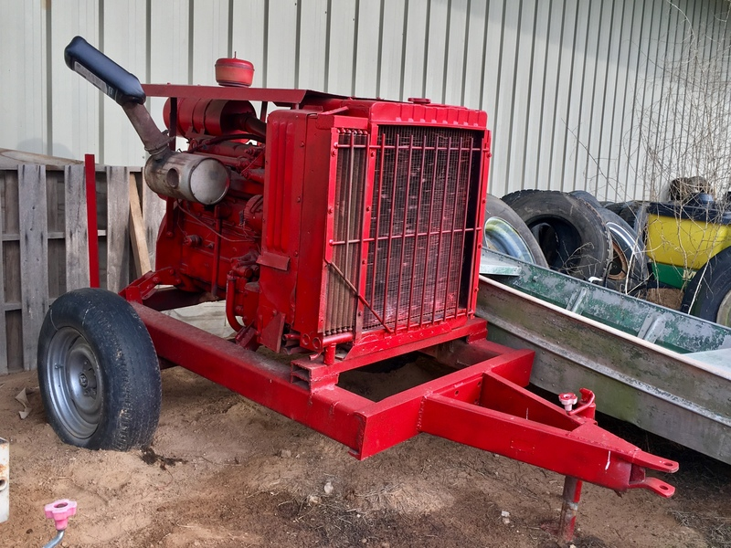 International Harvester d310 Irrigation