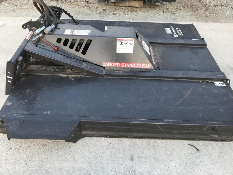 2013 Bradco BC72 Loader and Skid Steer Attachment