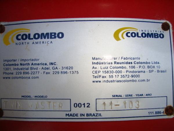 2011 Colombo Colombo Twin Master Peanut