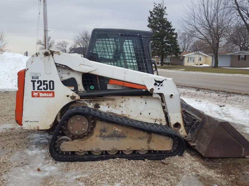 Used Bobcat T250 Skid Steers for Sale   Machinery Pete
