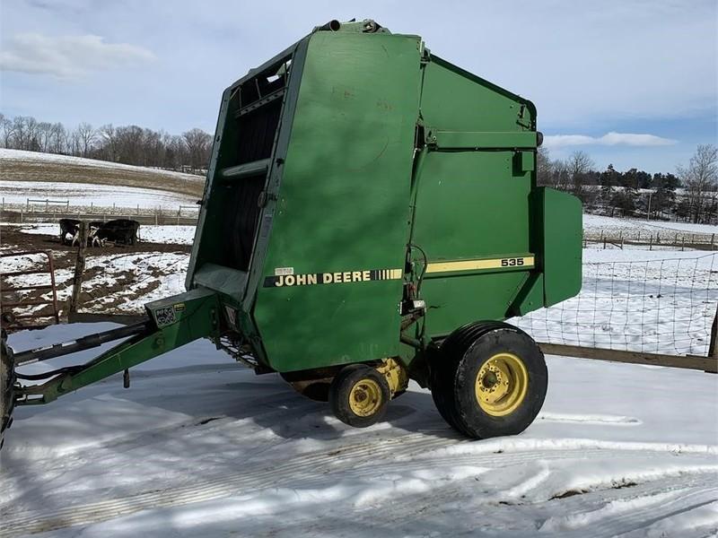John Deere 535 Round Balers for Sale | Machinery Pete