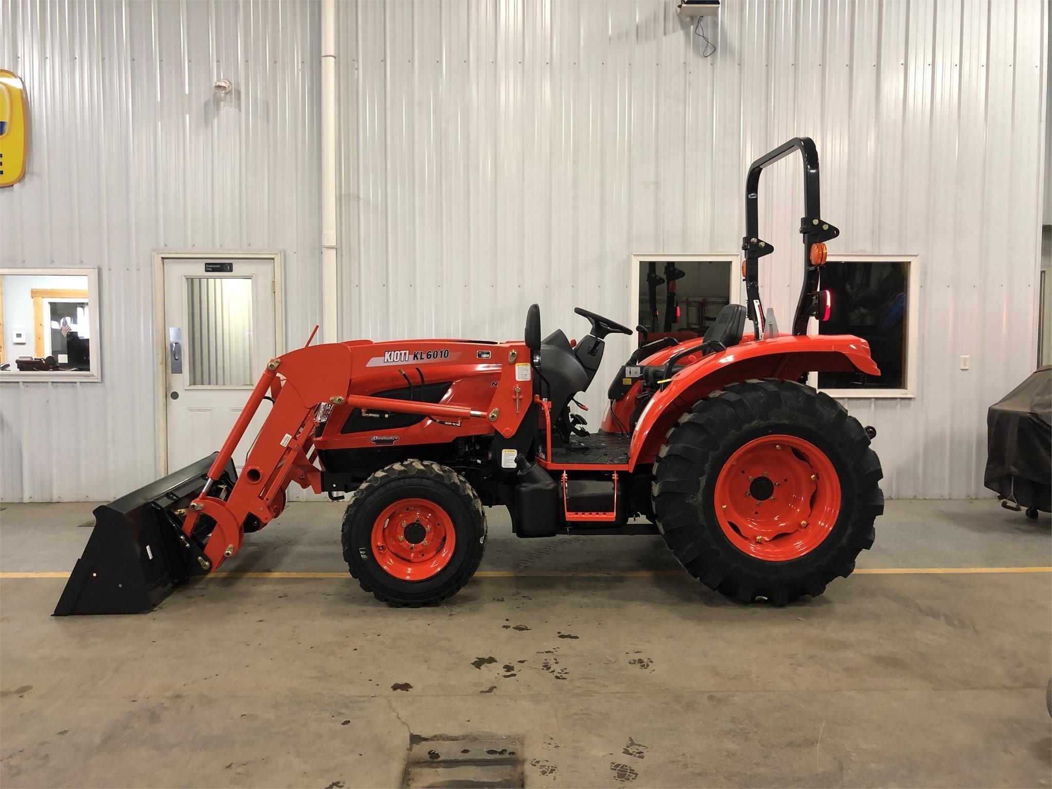2019 Kioti NX6010HST Tractor