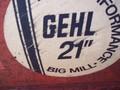 1984 Gehl 95 Grinders and Mixer