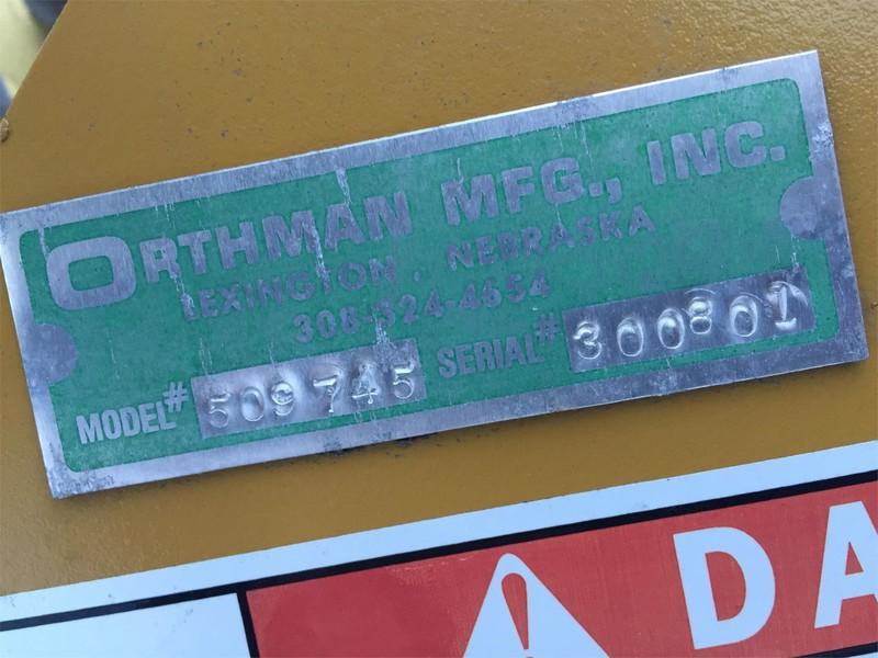 Orthman FE775 Scraper