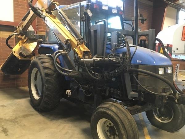 Ganz und zu Extrem New Holland TS100 Tractor - Wilmington, Ohio | Machinery Pete @VY_94