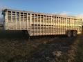 1998 EBY ground loader Livestock Trailer