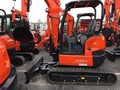 2014 Kubota U35-4 Excavators and Mini Excavator
