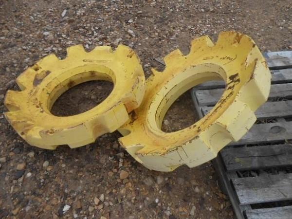 John Deere Wheel Weights Wheels / Tires / Track
