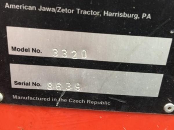 1997 Zetor 3320 Tractor