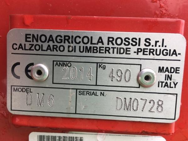 2017 Enorossi DM6 Disk Mower