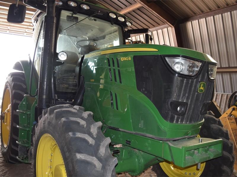 2013 John Deere 6190R Tractor