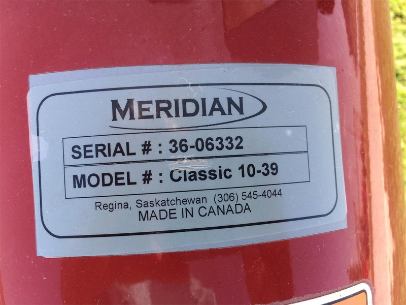Meridian TL10-39 Augers and Conveyor