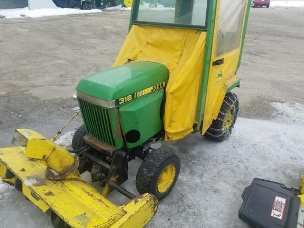 John Deere 318 >> 1985 John Deere 318 Lawn And Garden Waverly Iowa Machinery Pete