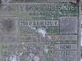 1981 TRINITY INDUSTRIES INC 1000 Pull-Type Fertilizer Spreader