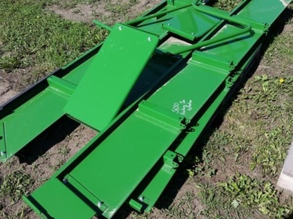 John Deere Factory Bin Extension Harvesting Attachment