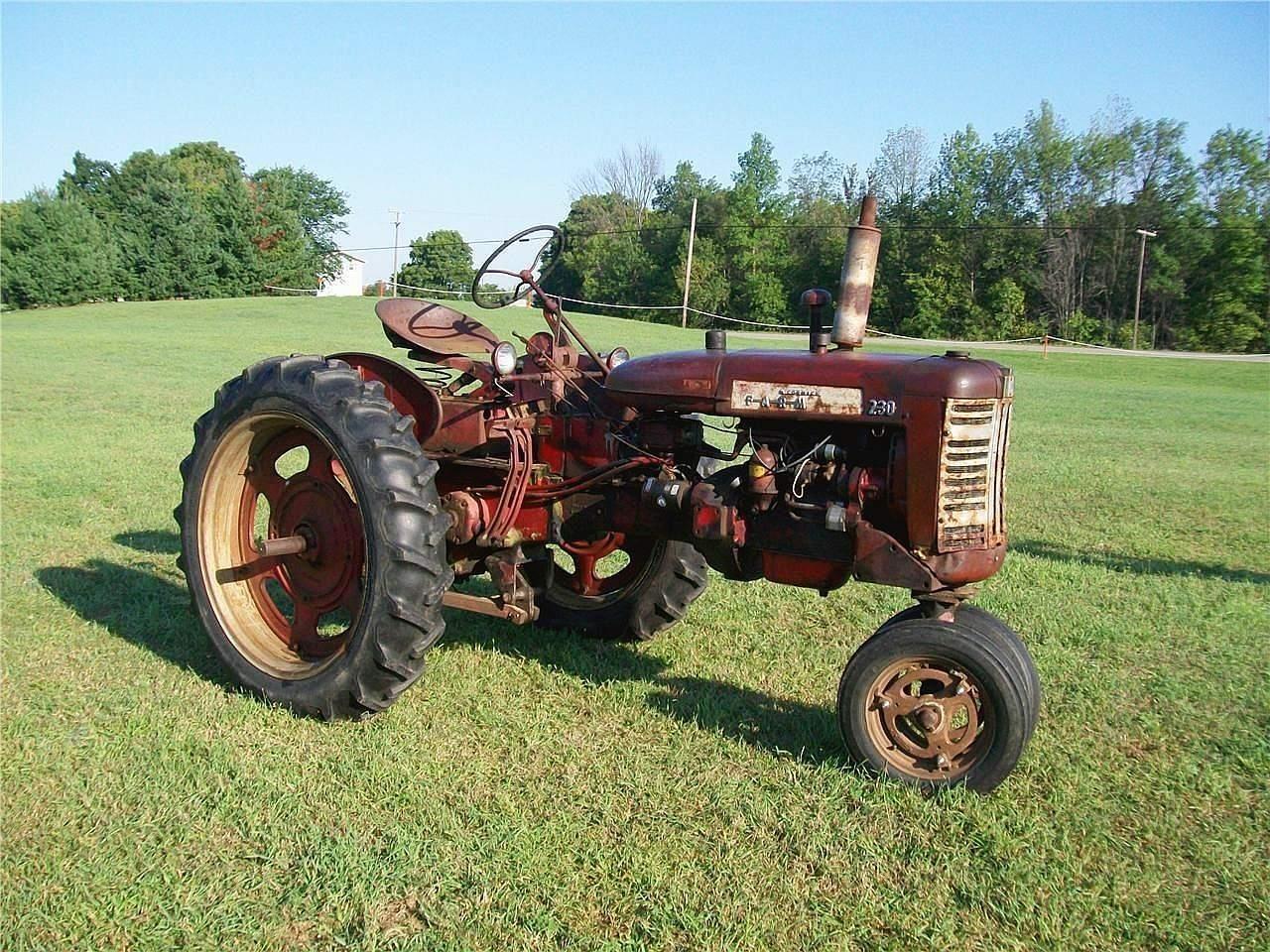 1957 International 230 Tractor