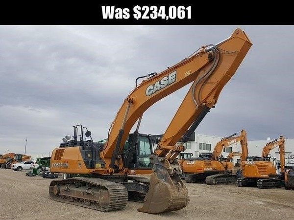 2016 Case CX350D Excavators and Mini Excavator