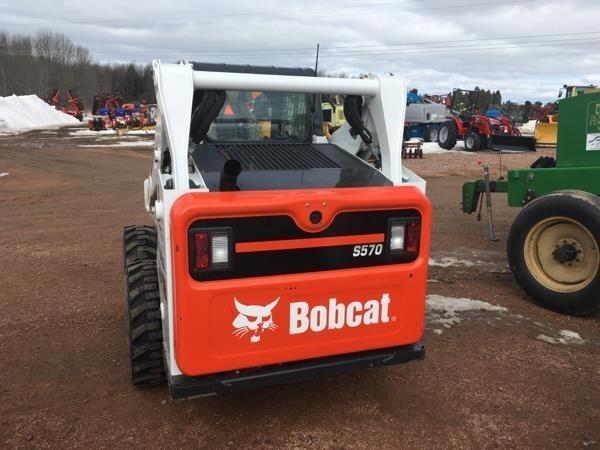 2018 Bobcat S570 Skid Steer
