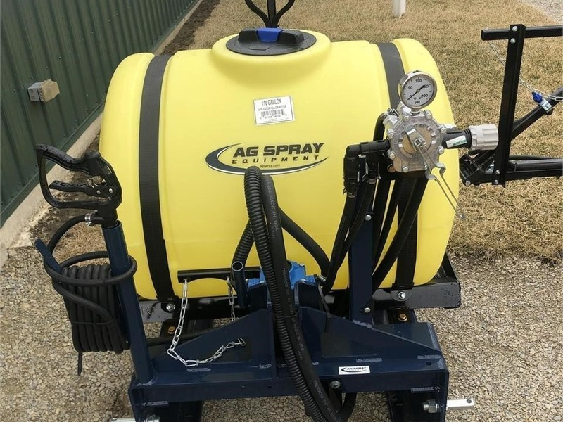 Ag Spray Equipment RM110 Pull-Type Sprayer