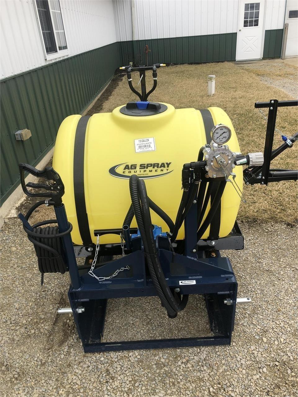 Ag Spray Equipment 110 Pull-Type Sprayer