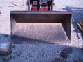 """Toro 48"""" BUCKET  FOR A DINGO AVAIL FOR RENT Loader and Skid Steer Attachment"""