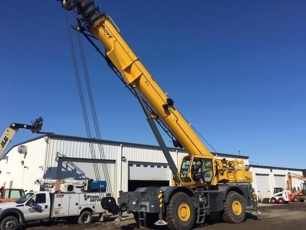 2017 Grove GRT8100 Crane