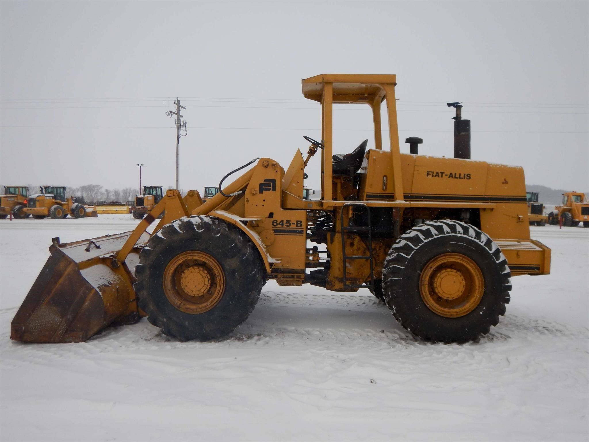 1978 Fiatallis 645B Wheel Loader