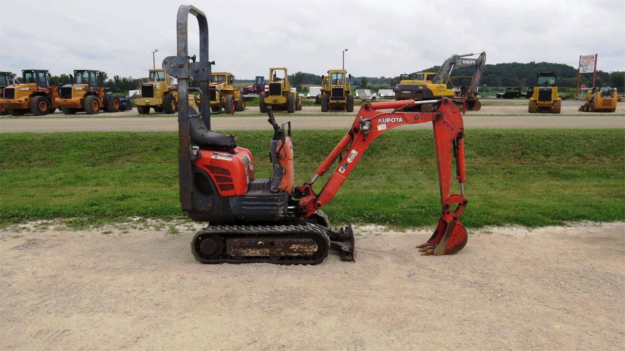 2012 Kubota K008-3 Excavators and Mini Excavator