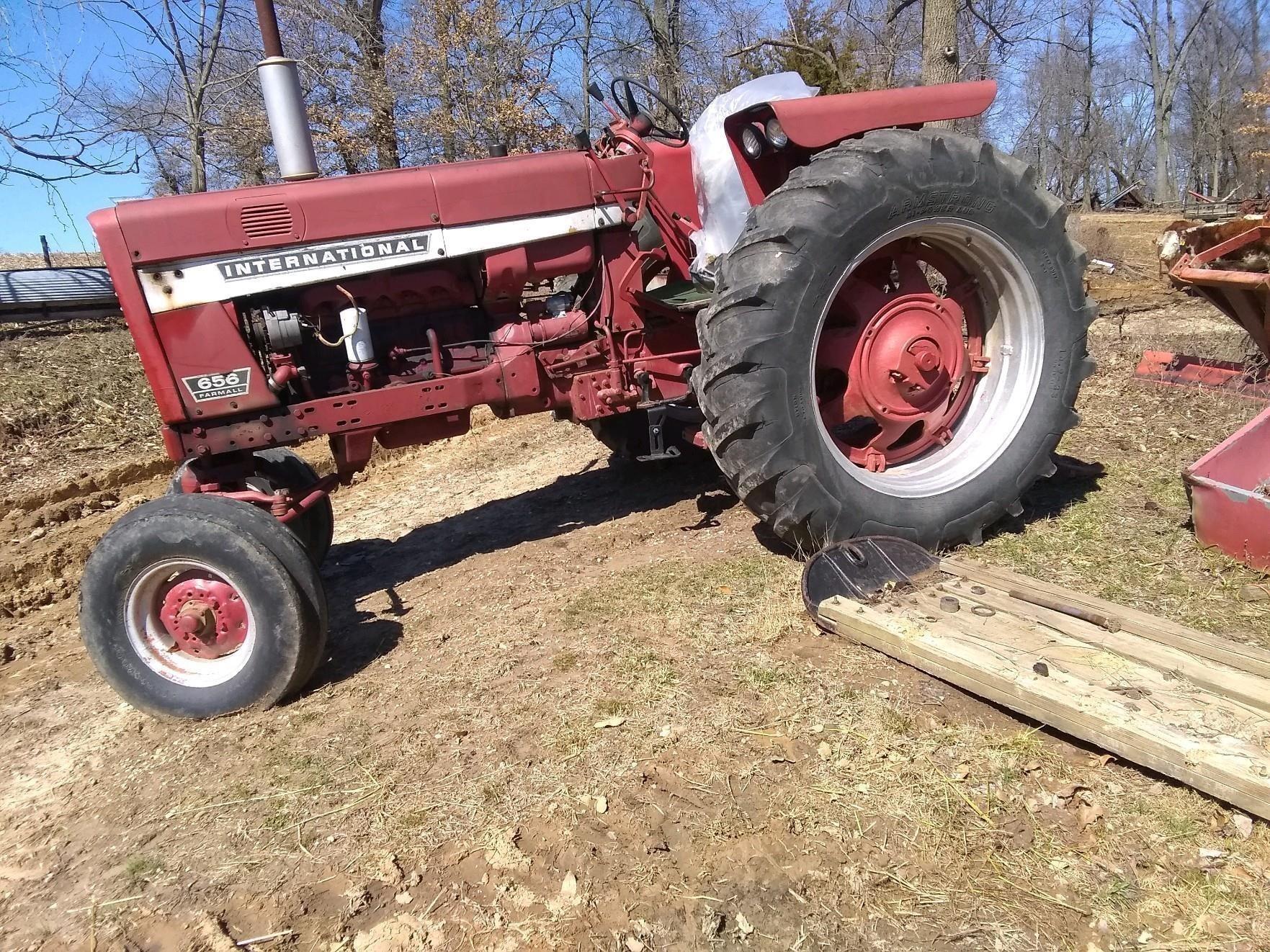 1967 International Harvester 656 Tractor
