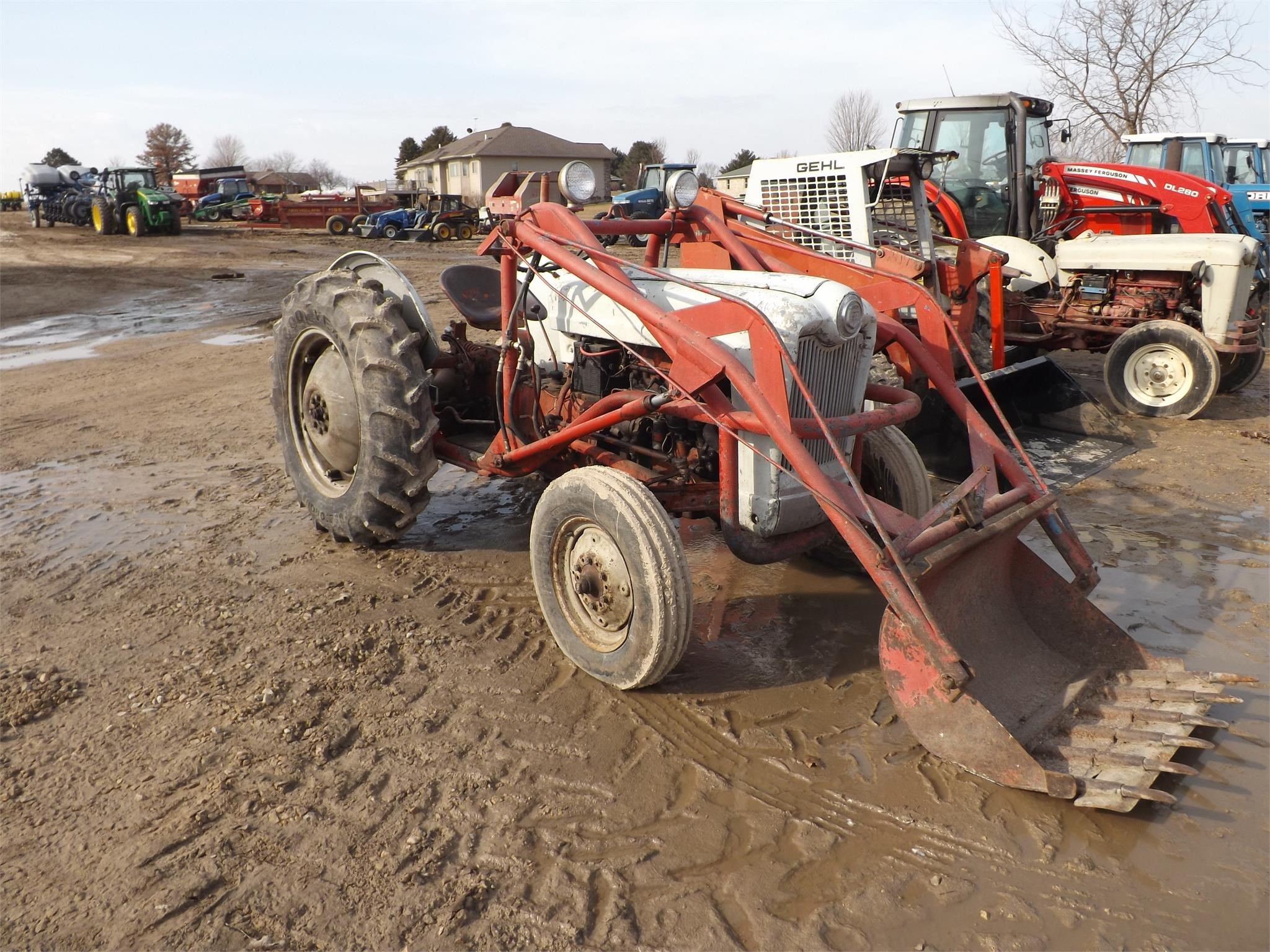 Ford Golden Jubilee NAA Tractor